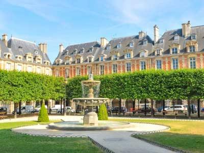 Alojarse en el Barrio de Le Marais