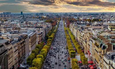Alojarse en Paris cerca de los Campos Elíseos y Ópera