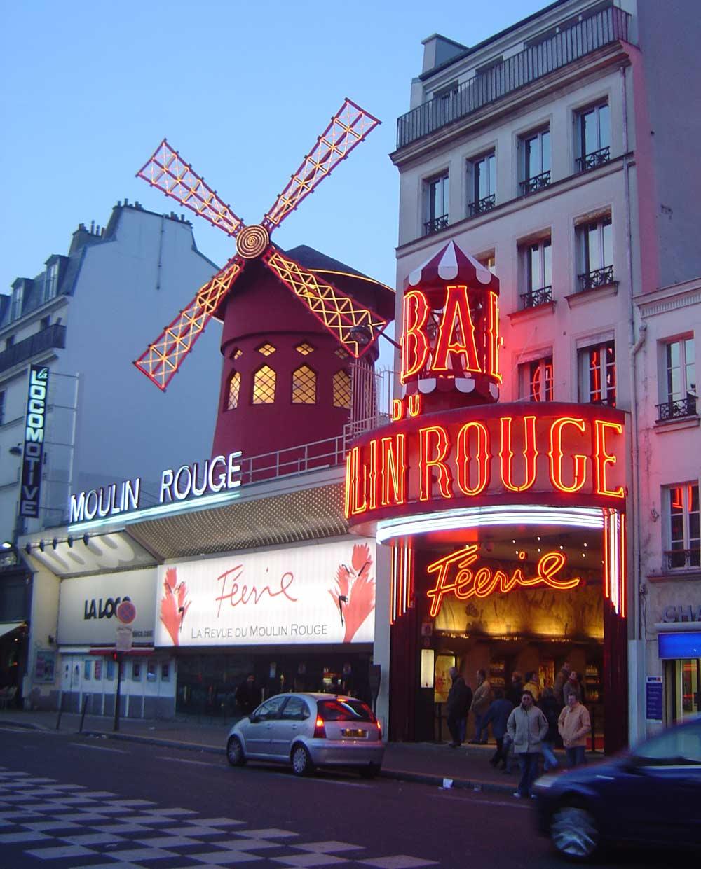 Cabaret Moulin Rouge