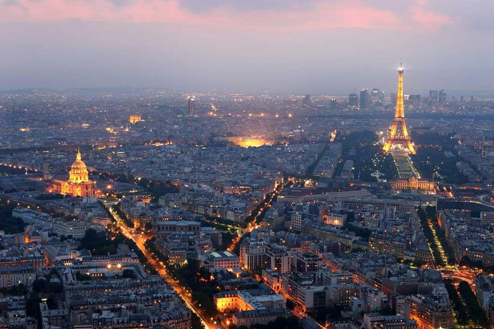Turismo en Paris, Francia